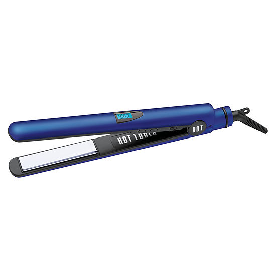 "Hot Tools® Radiant Blue 1"" Digital Titanium Salon Flat Iron"