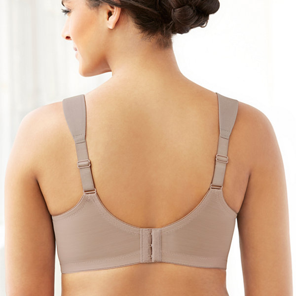 Glamorise Soft Shoulders Magiclift® Seamless Strap Wireless T-Shirt Full Coverage Bra-1080