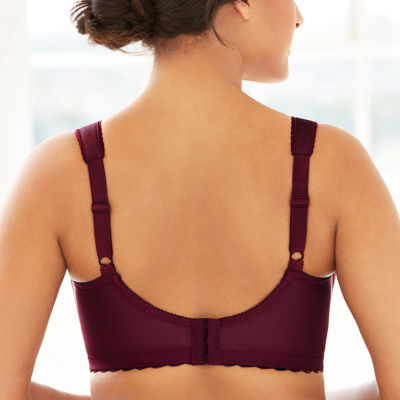 Glamorise Magiclift® Full Figure Support Wireless Unlined Full Coverage Bra-1000