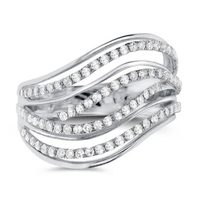 3/4 Diamond 14K White Gold Ring