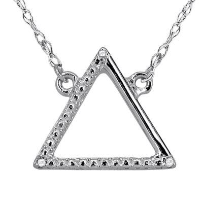Diamond Accent 14K White Gold Necklace