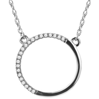 Diamond Accent 14K White Gold Necklace 2