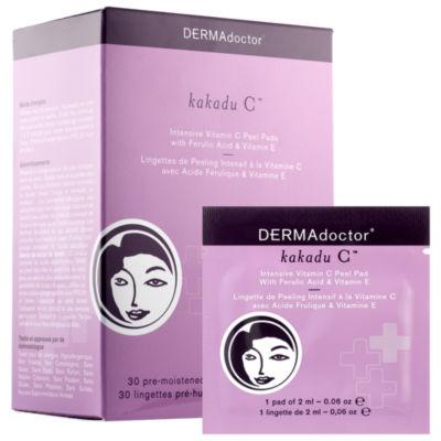 DERMAdoctor Kakadu C™ Intensive Vitamin C Peel Pads with Ferulic Acid & Vitamin E