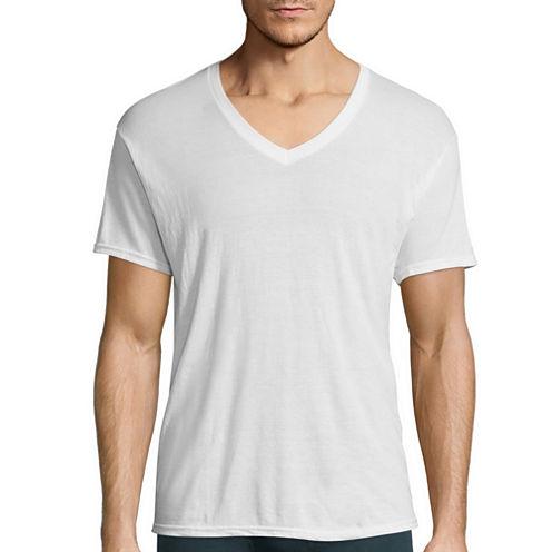 Hanes Men's X-Temp® Comfort Cool® FreshIQ™ V-Neck Undershirt 3-Pack