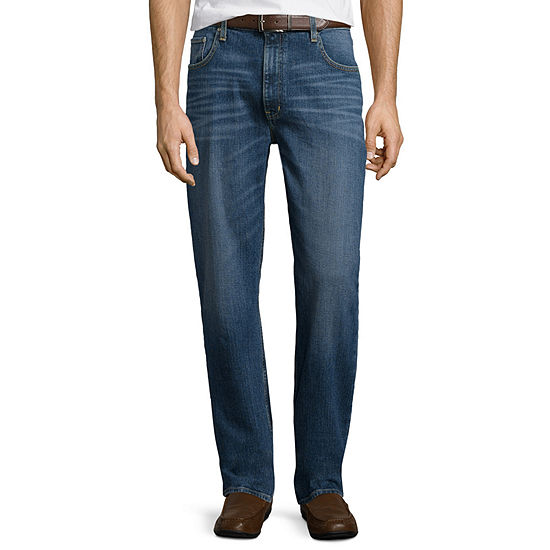 St. John's Bay® Regular-Fit Comfort Stretch Denim Jeans