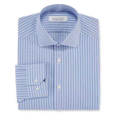 Collection by Michael Strahan Cotton Stretch Long-Sleeve Dress Shirt