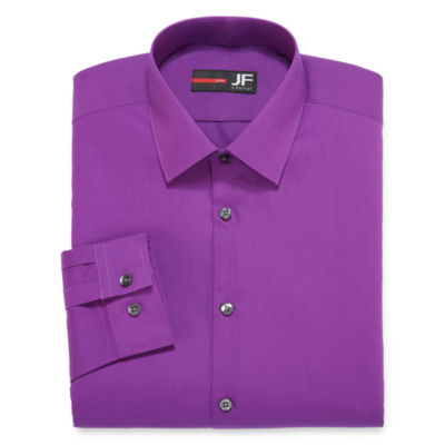 JF J. Ferrar® Long-Sleeve Easy-Care Solid Dress Shirt - Big & Tall