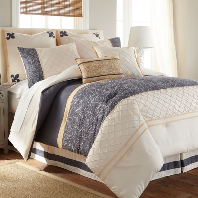 Pacific Coast Textiles Lyra 8-pc. Comforter Set
