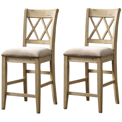 Signature Design by Ashley® Madison Set of 2 Upholstered Barstools