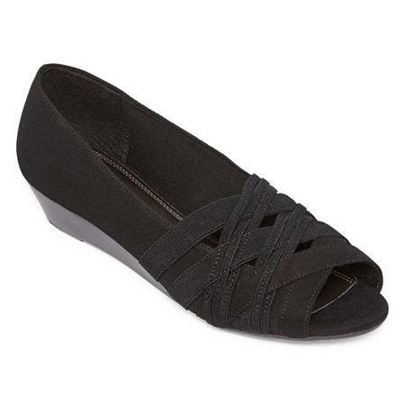 east 5th Womens Rachelle Slip-On Shoe, 6 1/2 Medium, Black