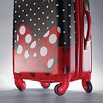 American Tourister Disney Minnie Mouse Red Bow 28 Inch Hardside Lightweight Luggage