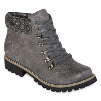 St. John's Bay Pickens Womens Combat Boots