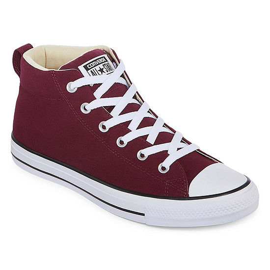ed32c63eb865f Converse Chuck Taylor All Star Street-Mid Mens Sneakers Lace-up - JCPenney