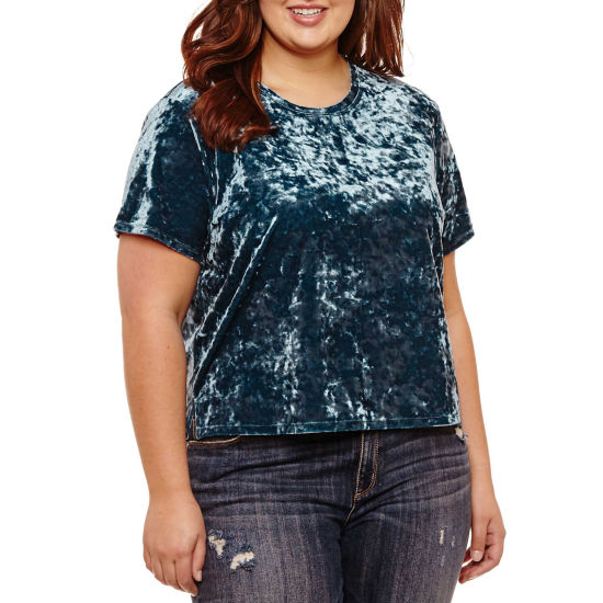 Arizona Velvet Top- Juniors Plus