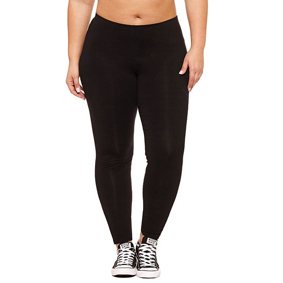 Flirtitude Leggings-Juniors Plus