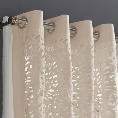 Queen Street Lagos Grommet-Top Curtain Panel