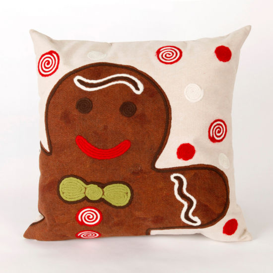 Liora Manne Visions Ii Ginger Boy Square Outdoor Pillow