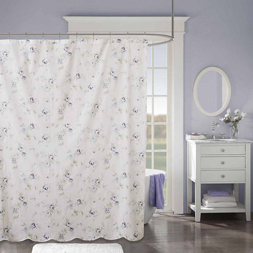 Madison Park Paolina Cotton Shower Curtain