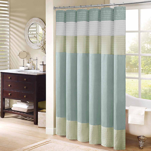 Madison Park Chester Shower Curtain