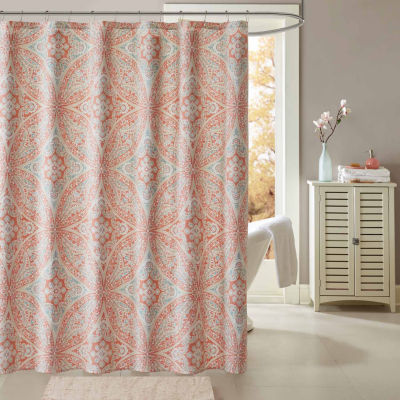Madison Park Addison Printed Shower Curtain
