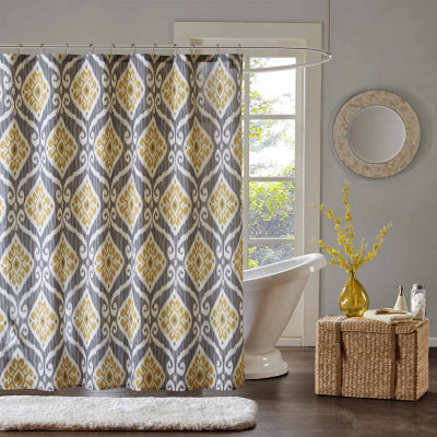 Madison Park Mika Printed Shower Curtain