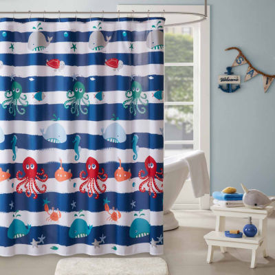 Lovely Under The Sea Shower Curtain