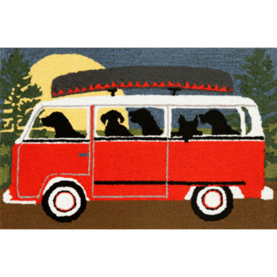 Liora Manne Frontporch Camping Trip Hand Tufted Rectangular Rugs