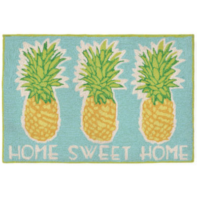 Liora Manne Frontporch Home Sweet Home Hand Tufted Rectangular Rugs