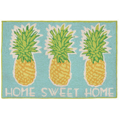 Liora Manne Frontporch Home Sweet Home Hand Tufted Rectangular Indoor/Outdoor Rugs