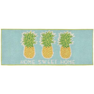 Liora Manne Frontporch Home Sweet Home Hand Tufted Rectangular Runner