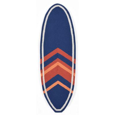 Liora Manne Frontporch Angleboard Hand Tufted Rectangular Runner