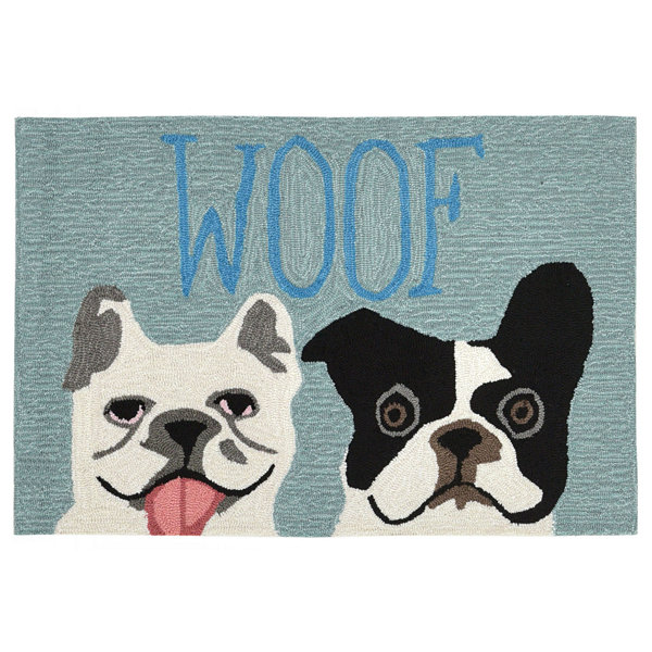 Liora Manne Frontporch Le Woof Hand Tufted Rectangular Rugs