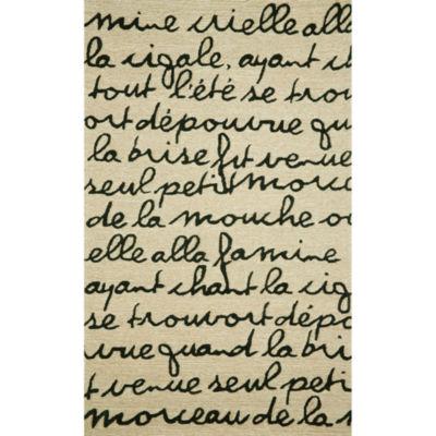 Liora Manne Spello Poem Hand Tufted Rectangular Rugs