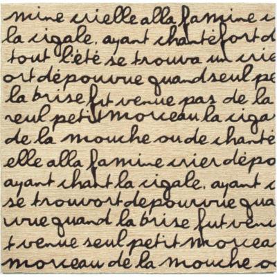 Liora Manne Spello Poem Hand Tufted Square Rugs