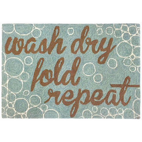 Liora Manne Frontporch Wash...And Repeat Hand Tufted Rectangular Rugs