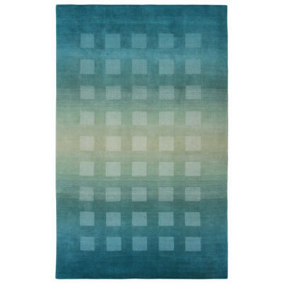Liora Manne Vienna Ombre Boxes Rectangular Rugs