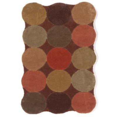 Liora Manne Amalfi Circles Hand Tufted Rectangular Rugs