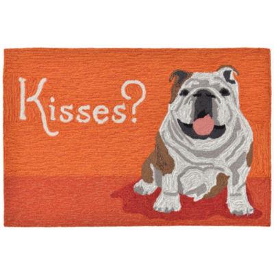 Liora Manne Frontporch Wet Kiss Hand Tufted Rectangular Indoor/Outdoor Accent Rug