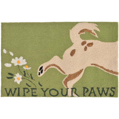 Liora Manne Frontporch Wipe Your Paws Hand Tufted Rectangular Rugs