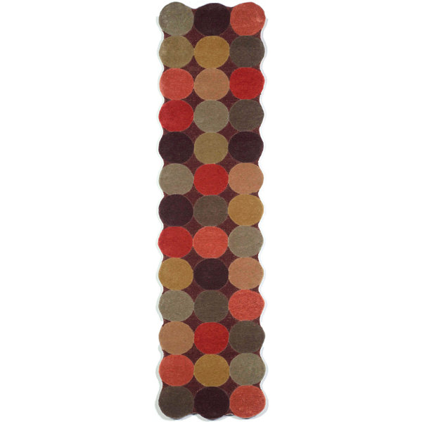 Liora Manne Amalfi Circles Hand Tufted Rectangular Runner