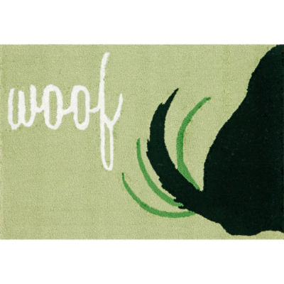 Liora Manne Frontporch Woof Hand Tufted Rectangular Rugs