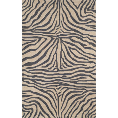 Liora Manne Ravella Zebra Hand Tufted Rectangular Rugs