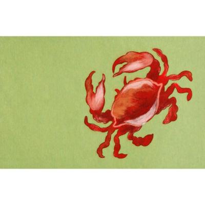 Liora Manne Visions Ii Crab Rectangular Rugs