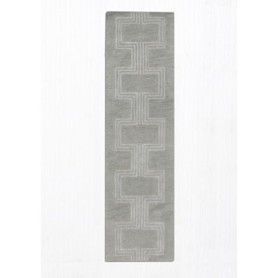 Liora Manne Roma Boxes Hand Tufted Rectangular Runner