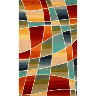 Liora Manne Amalfi Collage Hand Tufted Rectangular Indoor Area Rug