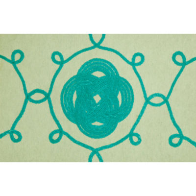 Liora Manne Visions Iii Ornamental Knot Rectangular Rugs