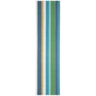 Liora Manne Newport Vertical Stripe Hand Tufted Rectangular Runner