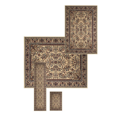 Liora Manne Athena Sarouk Rectangular 4-pc. Rug Set