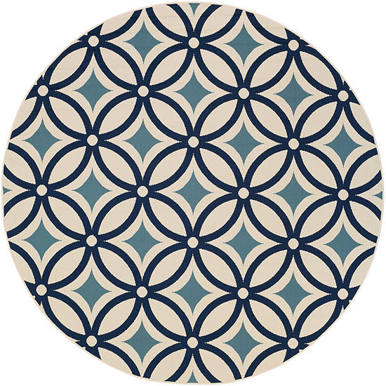 Surya Ionia Round Indoor/Outdoor Rugs