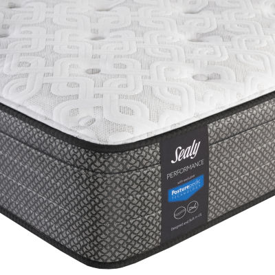 Sealy® Besant Cushion Firm Eurotop - Mattress Only